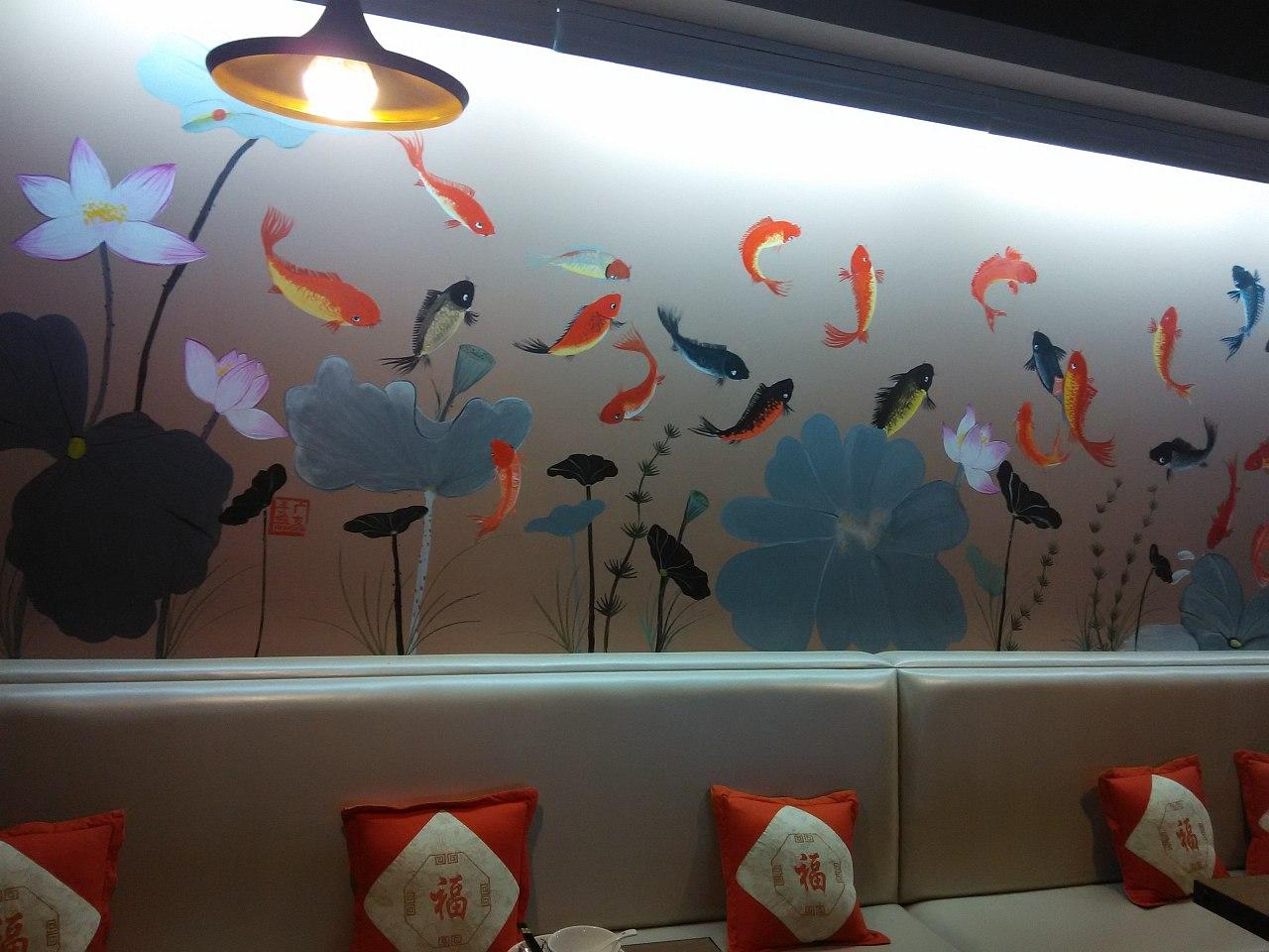 吉安墙绘,吉安手绘壁画,吉安手工绘画,吉安喷绘墙体广告